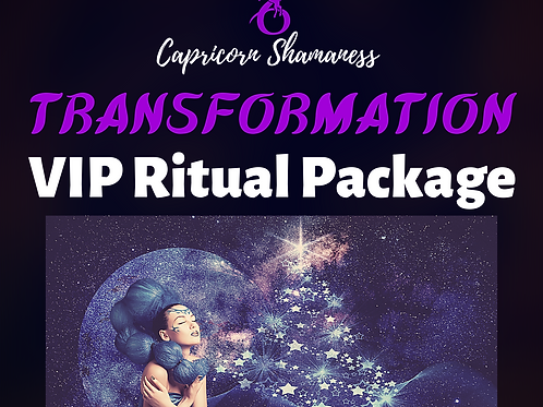 TRANSFORMATION - VIP Ritual Package