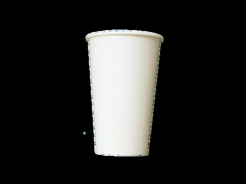 Vaso térmico 16 oz. papel con película de PLA.