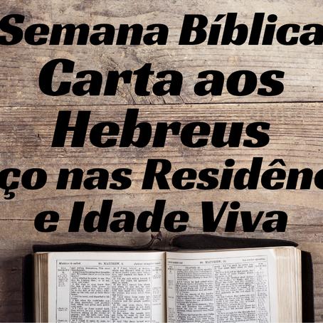 Semana Bíblica - Carta aos Hebreus