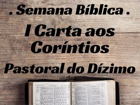 Semana Bíblica - Primeira Carta aos Coríntios