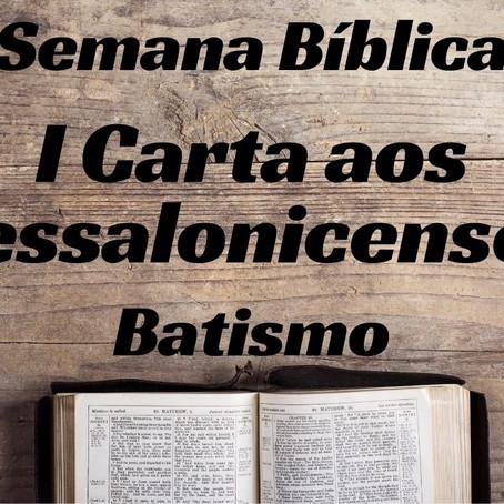 Semana Bíblica - I Carta aos Tessalonicenses