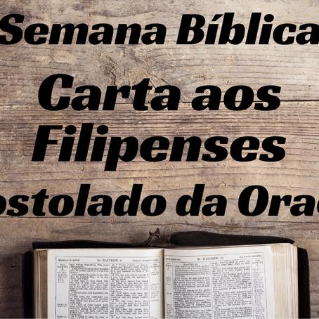 Carta aos Filipenses - Semana Bíblica