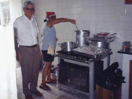 Nossos párocos - Padre Jorge Sanz Afonso