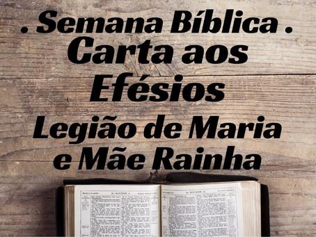 Semana Bíblica - Carta aos Efésios
