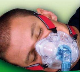 Maschera per Ventilazione Domiciliare CPAP, BiPAP e NIV