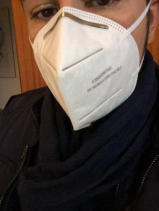 NUOVE! Bustina da 2 maschere protezione FFP2/KN95