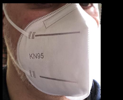 Busta da 2 maschere protezione FFP2/KN95