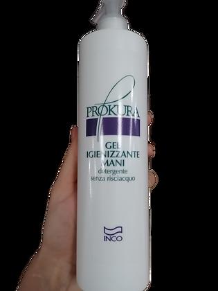 Gel igienizzante detergente senza risciacquo 500 ml (1 pezzo)