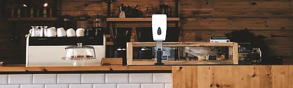 Distributore Elettronico di gel igenizzante versione DA BANCO