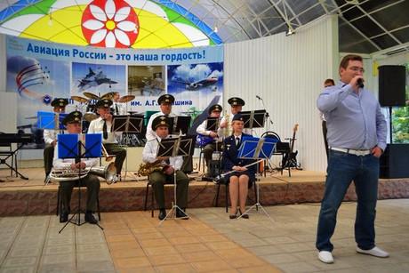 Празднование Дня Воздушного флота России и открытие 1-го гидроавиасалона в Обнинске