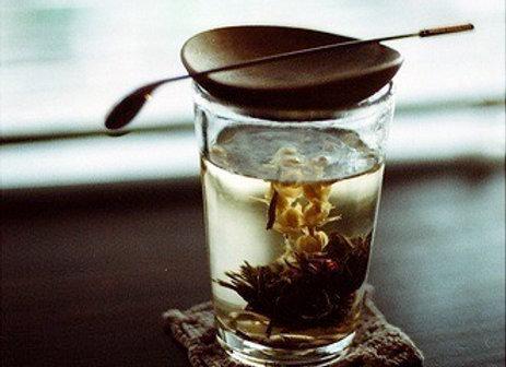 Chine Fleurs de thé vert