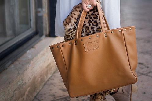 Modèle margot cuir camel