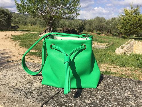 Modèle Matilda piccolo cuir vert