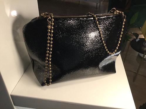 Modèle LittleLili cuir brillant noir