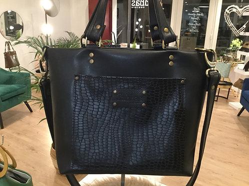 Modèle Anne cuir noir
