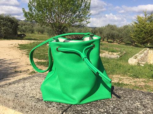 Modèle Matilda grande cuir vert