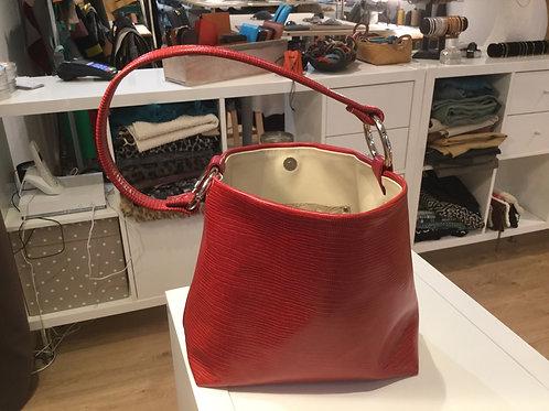 Modèle  Anna cuir rouge