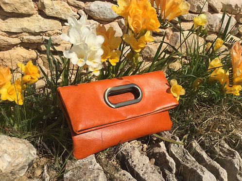 Modèle Joséphine cuir orange