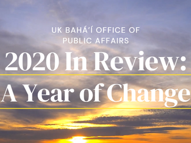 The Bahá'í Office of Public Affairs' 2020 in review: A year of change
