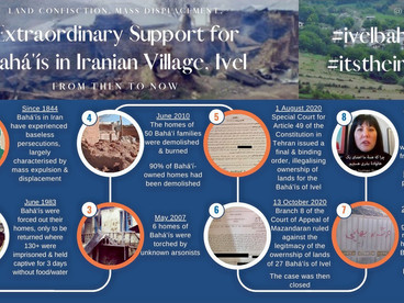 """""""An extraordinary wave of support"""": growing outcry for Bahá'ís in Iranian Village, Ivel"""