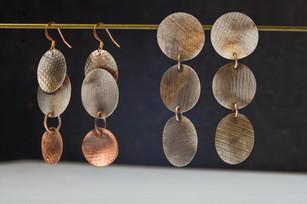 Three circles earrings - Bessy Berman