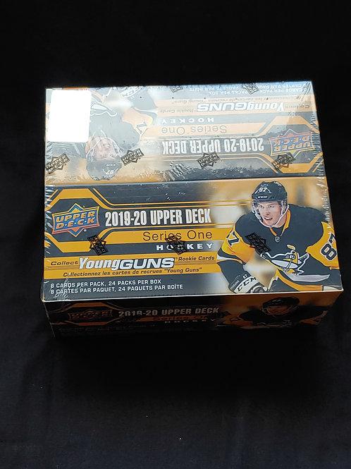 2019/20 Upper Deck Series 1 Hockey Retail Box