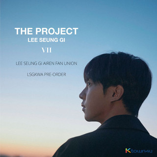 Lee Seung GI Fan Union: Purchasing Guide on Lee Seung Gi's 7th Album 「THE PROJECT」