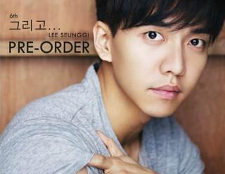 Lee Seung Gi 6th Album Pre-order
