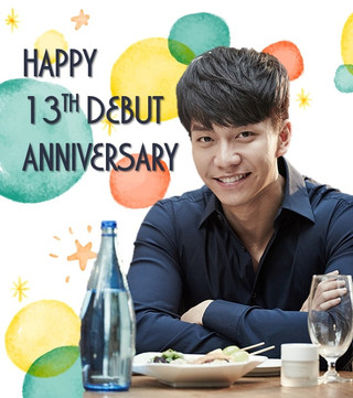 [Notice] Lee Seung Gi 13th Debut Anniversary