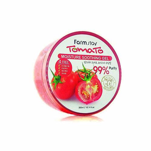 Увлажняющий гель с экстрактом томата FarmStay Moisture Soothing Gel Tomato 300мл