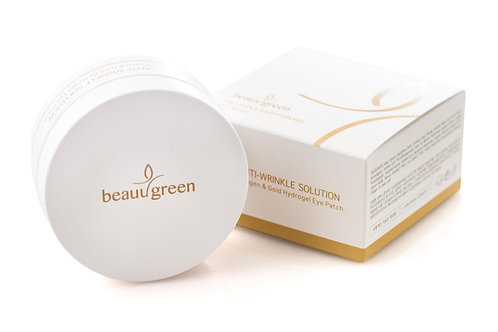 BeauuGreen Collagen & Gold Hydrogel Eye Patch, 60 шт.