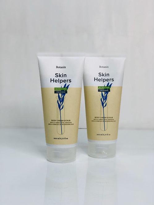 Крем-скраб для тела «Botanix. Skin Helpers» 200мл