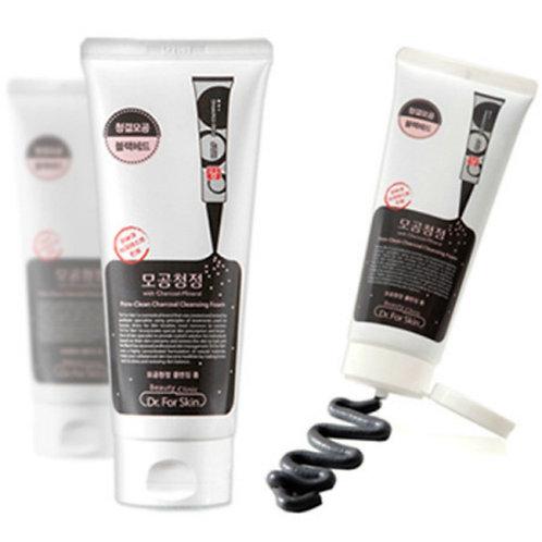 Пенка для умывания для жирной кожи Mediheal Pore-clean Charcoal 170 мл.
