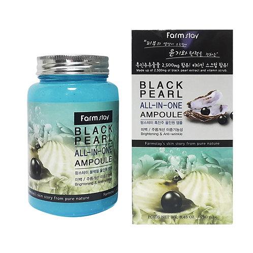 Жемчужная омолаживающая сыворотка FarmStay Black Pearl All-In One Ampoule 250 мл