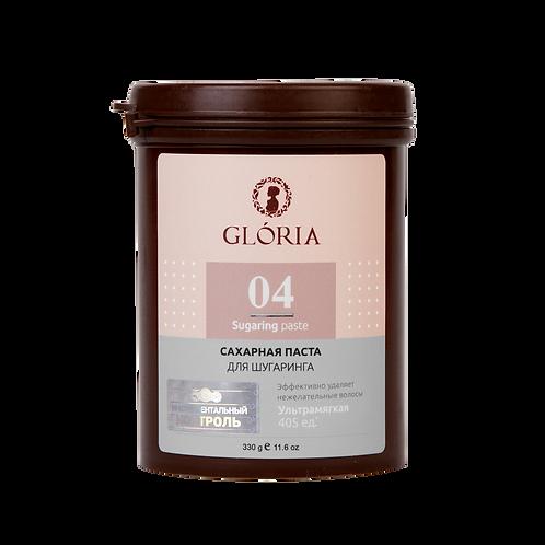 Паста для шугаринга GLORIA ультра-мягкая 0,33 кг.