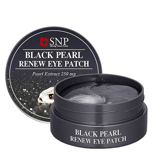 SNP Black Pearl Renew Eye Patch, 60 шт.