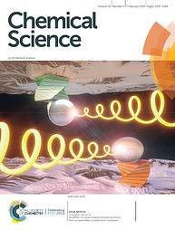 Amplified circularly polarized phosphorescence from co-assemblies of platinum(II) complexes. Cover image of Chemical Science