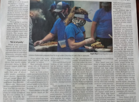 Luke's Deli was recently in the news