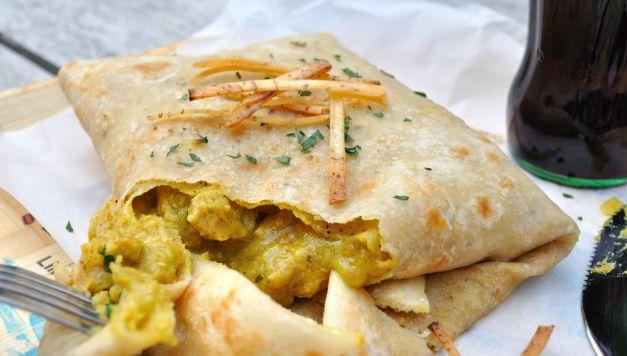 Roti (Veggie or Chicken)
