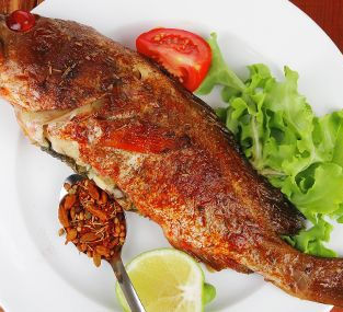 Fried Fish from Jamaica
