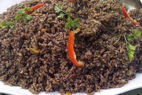 Diri Djon Djon - Haitian Black Rice