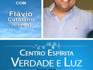 Palestra Pública com Flávio Catalano - Ibitinga - 03/09/2017.