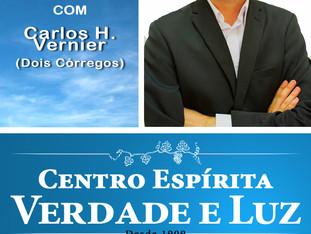 Hoje Palestra Pública com Carlos H. Vernier de Dois Córregos.