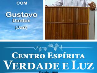 Palestra Pública com Gustavo Dantas - Jaú.  Domingo 03/12/2017 às 9 h.