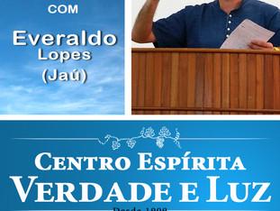 Palestra Pública com Everaldo Lopes - 12/09/2018