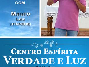 Palestra Pública com Mauro Luiz de Itápolis. 24/05/2017
