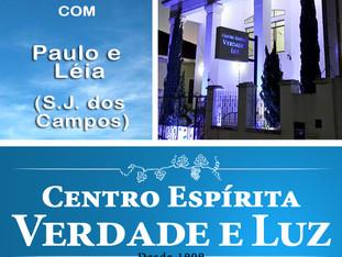 Palestra Pública com Paulo e Léia - São José dos Campos. 13/09/2017