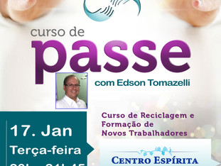 CURSO DE PASSE COM EDSON TOMAZELLI. 17/01/2017