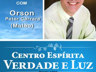 Palestra Pública com Orson P. Carrara - Matão - 26/09/2018.