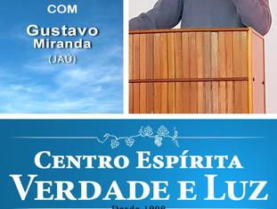 Palestra pública com Gustavo Miranda - 21/11/2018